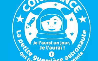 """Un grand merci à l'association """"Constance la petite guerrière astronaute""""  pour ce généreux don"""